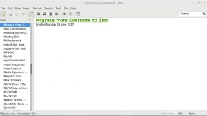 migrate from evernote to zim